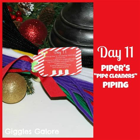 12 days of christmas service day 11 eleven piper s piping