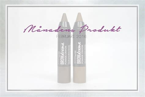 Maybelline Brow Drama Pomade Crayon m 229 nadens produkt maybelline brow drama pomade crayon