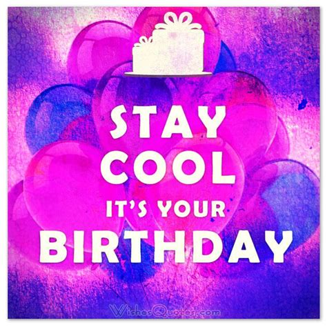 Cool Happy Birthday Wishes Cool Birthday Quotes Quotesgram