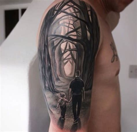 Walking With Papa By Yui Shin 17 best ideas about tattoos on future tattoos remembrance tattoos and