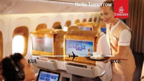 emirates kuala lumpur to dubai flight report emirates boeing 777 300er kuala lumpur