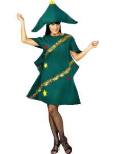 Adult christmas tree costume xmas fancy dress mens ladies festive