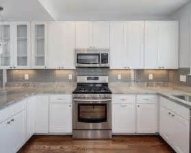 best grey glass tile backsplash design ideas remodel