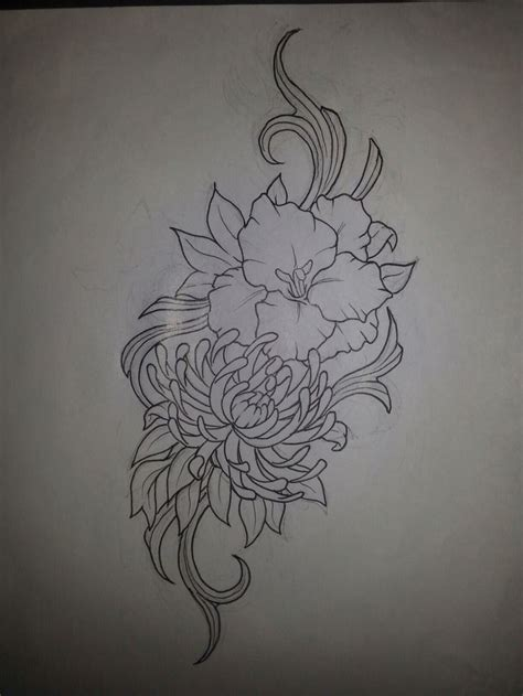 birth flowers tattoos designs august and november birth flower ideas