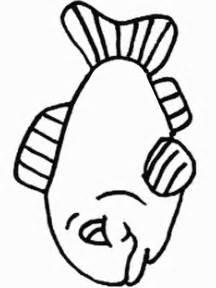 fish bowl coloring sheet cliparts co