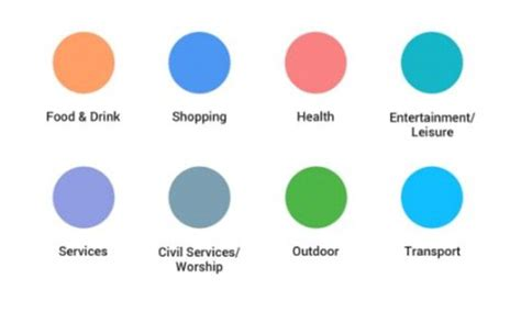 scandinavian color palette google overhauls maps to make it easier to find new places