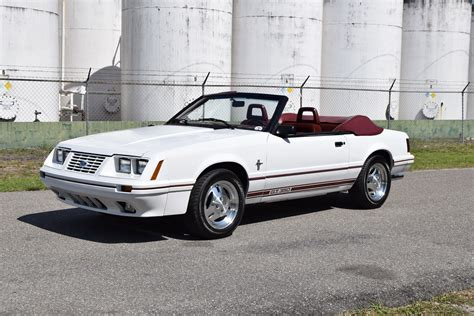 1984 Ford Mustang by 1984 Ford Mustang Gt350 Anniversary Conv For Sale 88009