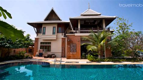 thai house designs house design thai style youtube
