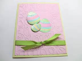 handmade easter card embossed easter card 3 d easter