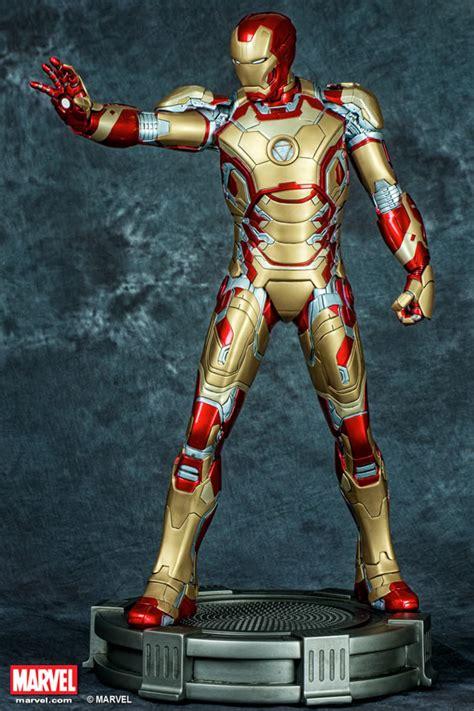 iron man marvel studios xm studios marvel iron man mark xlii statue movie