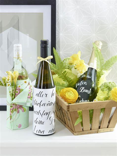 Weinflaschen Verpacken Geschenk by Flaschen H 252 Bsch Verpacken So Einfach Geht S