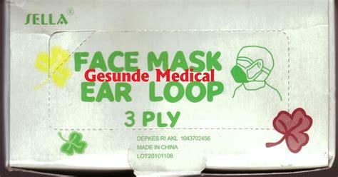 Masker Untuk Rumah Sakit jual masker muka kait telinga masker hidung dan mulut toko medis jual alat kesehatan