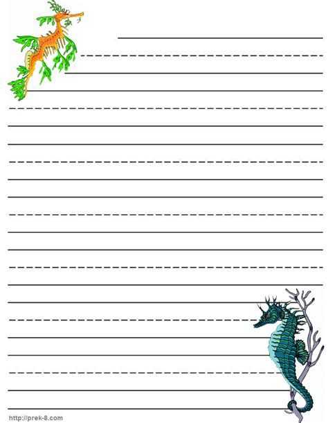 Paper With Children - free coloring pages printable writing paper print