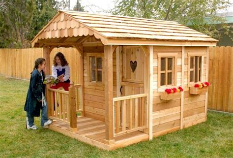 backyard clubhouse kits the complete guide to outdoor playhouse kits paul s playhouses