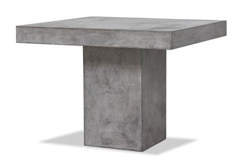 square concrete dining table square concrete dining table modern furniture brickell