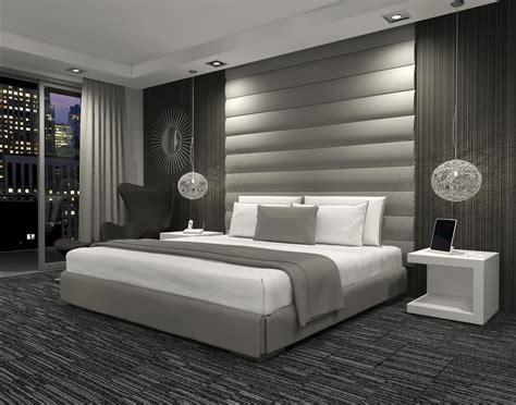 upholstered wallheadboard luxury bedroom master