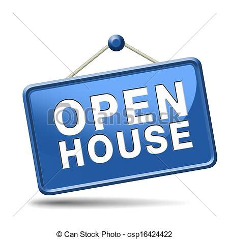 Open House Finder by Clip Of Open House Blue Sign Open House Icon Visit A Model House Csp16424422 Search