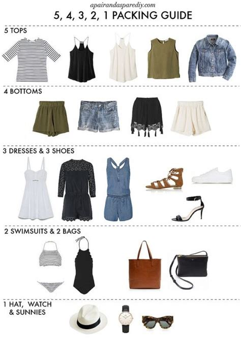 How To Pack Light For A Week by 25 Best Ideas About On