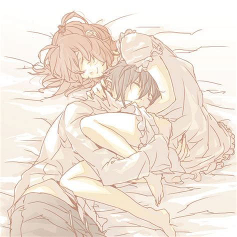 anime couple in bed ikuto with amu in the bed flickr photo sharing