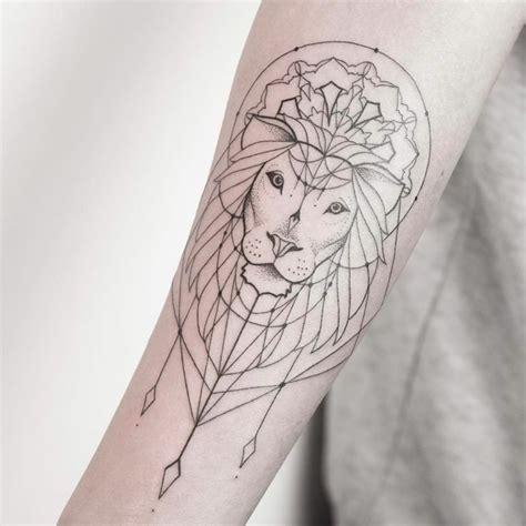1001 id 233 es en photos de tatouage lion inspirez vous de