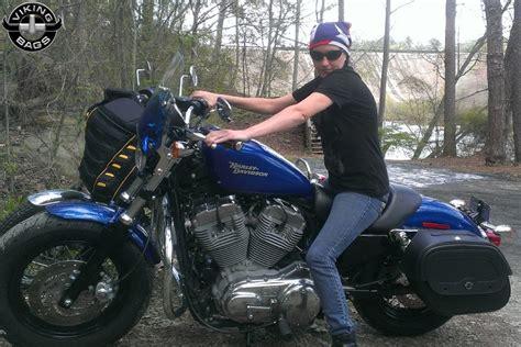 Harley Davidson Sportster Saddlebags Viking Bags