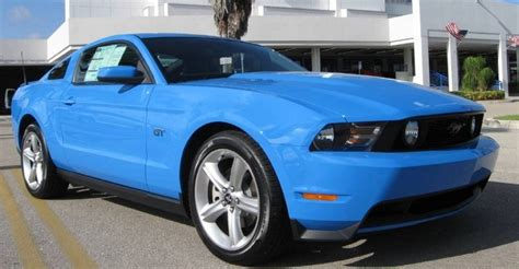 grabber blue 2010 mustang paint cross reference