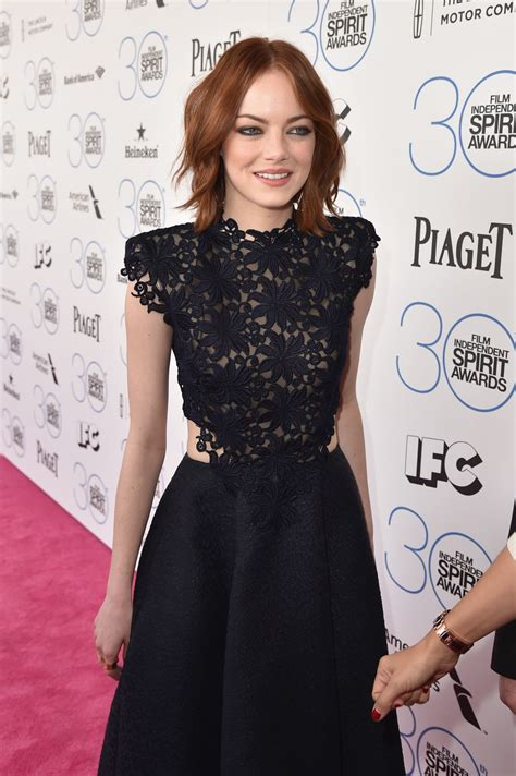 emma stone emmy emma stone 2015 film independent spirit awards in santa