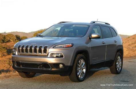 2014 Jeep Cherokee Limited Interior uConnect 8.4   The Truth About Cars