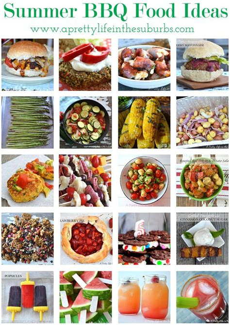 20 summer bbq food ideas