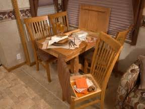 Rv Dining Table And Chairs Rv Dinette Replacement Modmyrv
