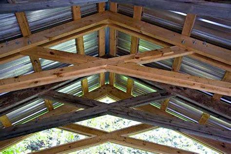 Patio Trusses by Mortise And Tenon Scissor Truss Ideas For The Property