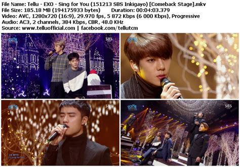 download mp3 exo sing for you album download perf exo sing for you sbs inkigayo 151213