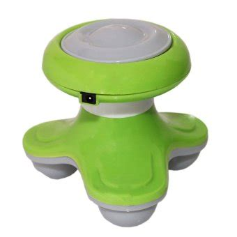 Alat Pijat Elektrik Lazada etarastore mini electric massager alat pijat mini green