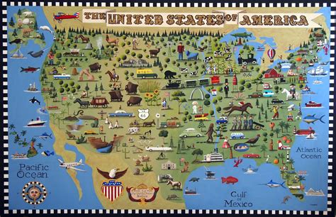 view map of united states prints for sale a bird s eye view of the united