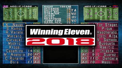 winning eleven 2002 winning eleven 2002 de ps1 actualizado al 2018 y online