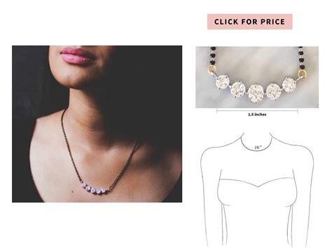 simple mangalsutra designs latest diamond mangalsutra