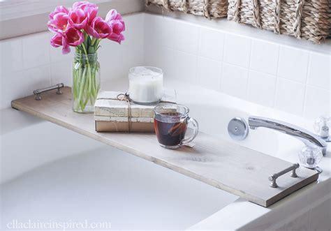 diy bathtub tray diy bathtub tray