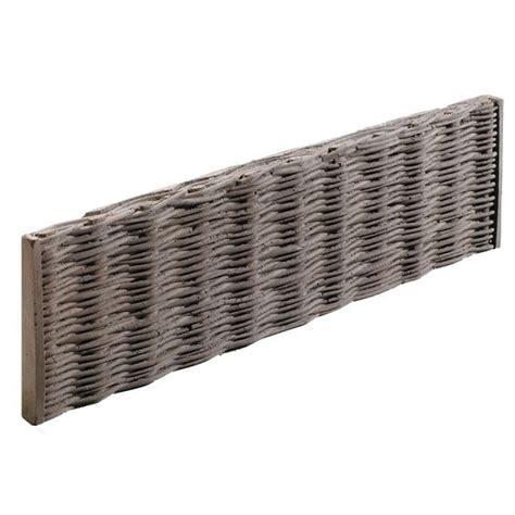 garten ideen 5091 kann beet zaunplatte weidengeflecht dunkelbraun garten