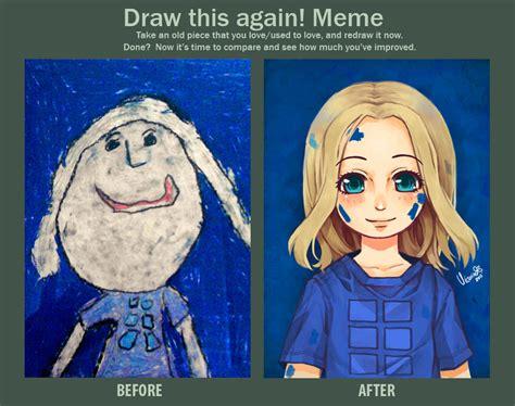 Deviantart Meme - before after meme by kuridoki on deviantart