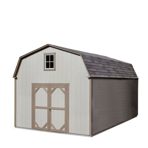 Heartland Sheds Lowes by Shop Heartland Country Manor 12 Ft X 20 Ft Gambrel Wood