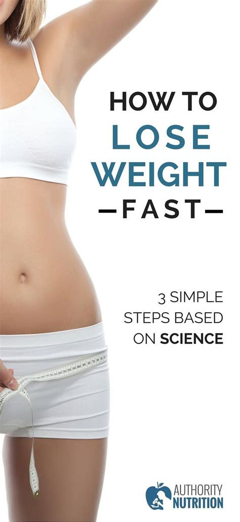 how to lose weight after c section fast how to lose weight fast 3 simple steps based on science
