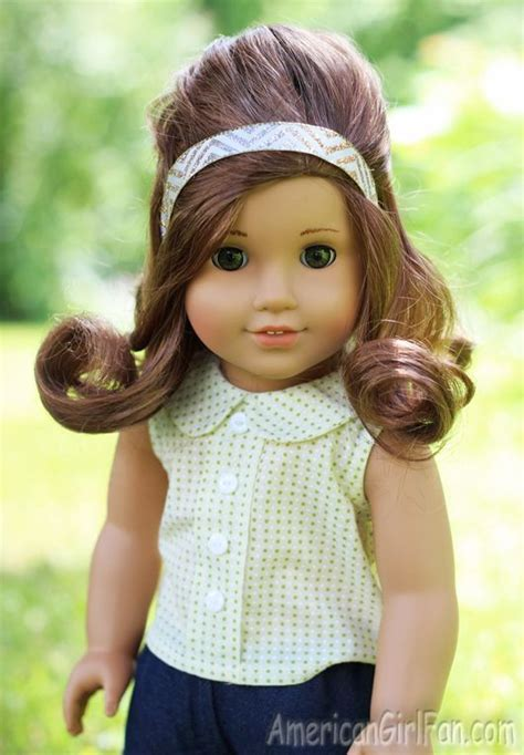 hairstyles for american girl doll videos american girl doll hairstyle waterfall twist braid