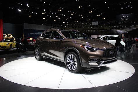 who makes the infiniti car infiniti changes name of q30 makes family of qx30 models