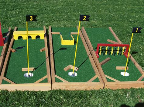 backyard drinking games awesome collection of diy mini golf obstacles crafts diy
