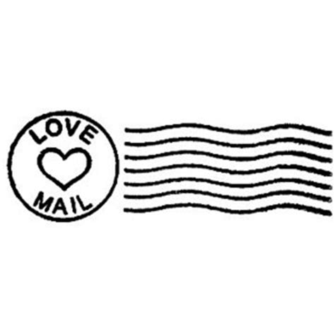 letter rubber st mail postal cancellation marks valentines day rubber