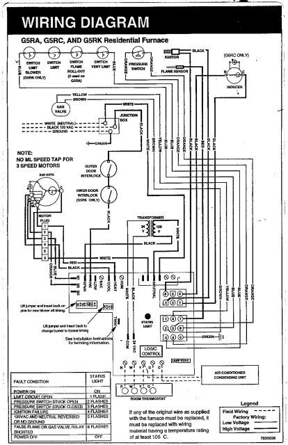 central air central air conditioning schematic diagram