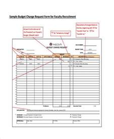 Budget Forms Templates Budget Form Templates