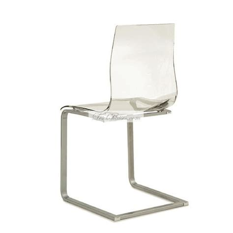 chaise haute transparente chaise haute transparente le monde de l 233 a
