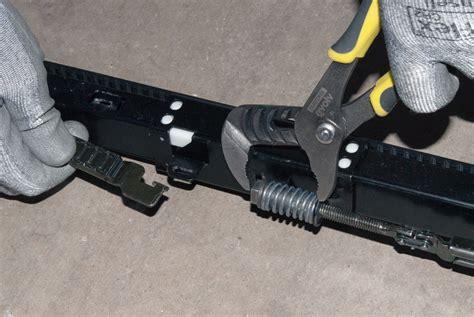 Garage Door Opener Belt Replacement How To Replace The Belt On A Belt Drive Garage Door Opener Repair Guide Help Sears Partsdirect