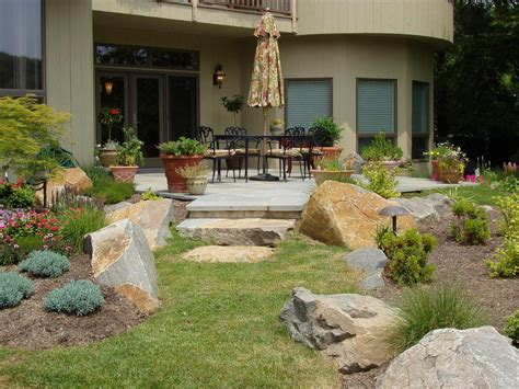 landscaping backyard ideas patio landscaping ideas hgtv